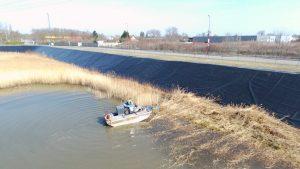 Nouveau ! Acquisition d'un bateau amphibie Mobitrac pour vos travaux de faucardage